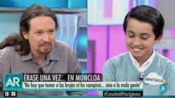 Un niño le pregunta a Pablo Iglesias cuánto dinero tiene en 'El programa de AR' y él responde