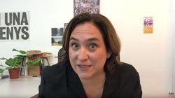 El vídeo de Ada Colau estilo 'youtuber' que ha provocado muchas bromas: