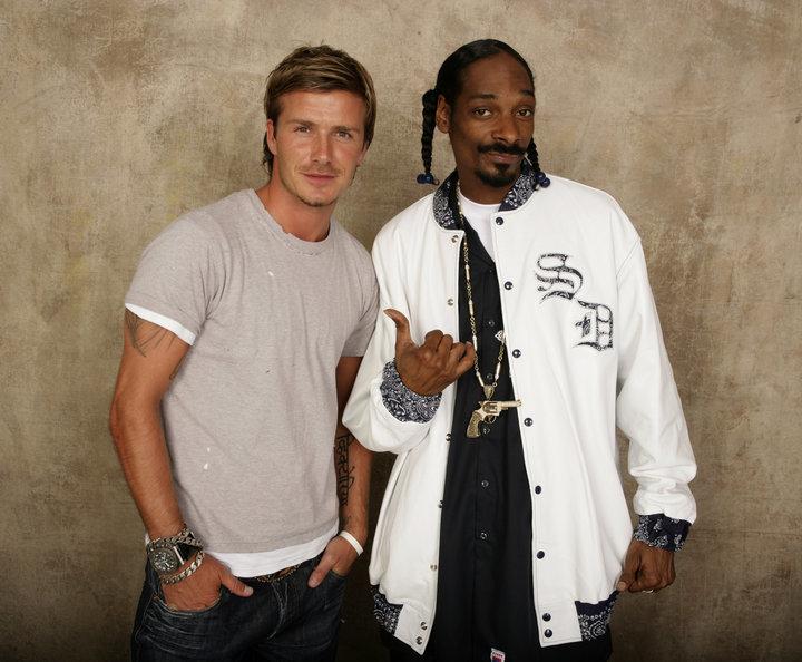 Beckham e Dogg: uma amizade há mais de