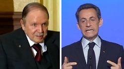 Bouteflika réfugié en France? Le rire nerveux de Sarkozy en