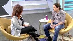 La respuesta de Pablo Iglesias en 'El Programa de Ana Rosa' cuando le preguntan por la
