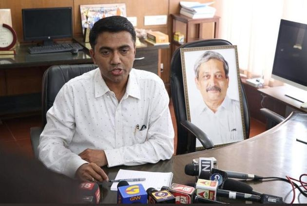 On his first day in office, Sawant first visited the Parrikar residence and met the family before proceeding...