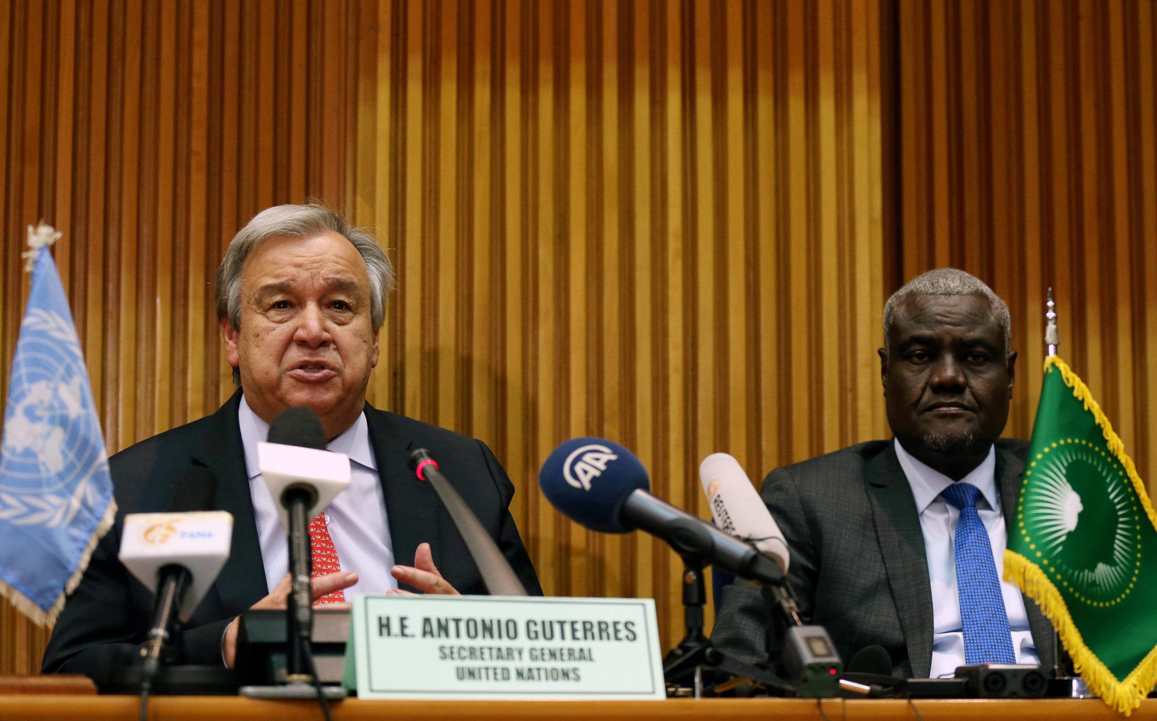 Rapport du SG de l'ONU: l'Union africaine appuie le processus politique onusien sur le