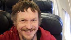 Ήταν ο μοναδικός επιβάτης σε Boeing 737, με 188