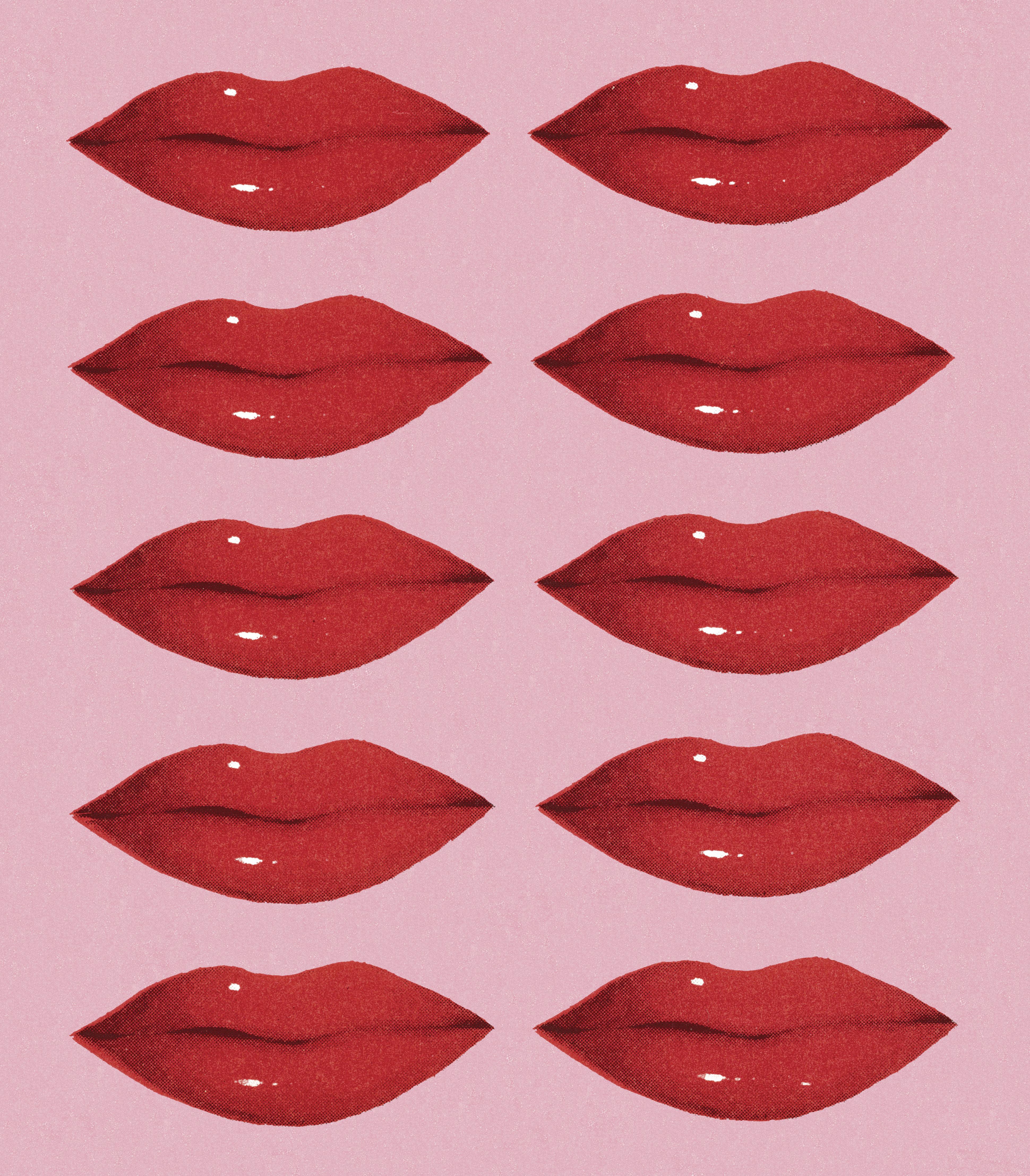 Ten Red Lips