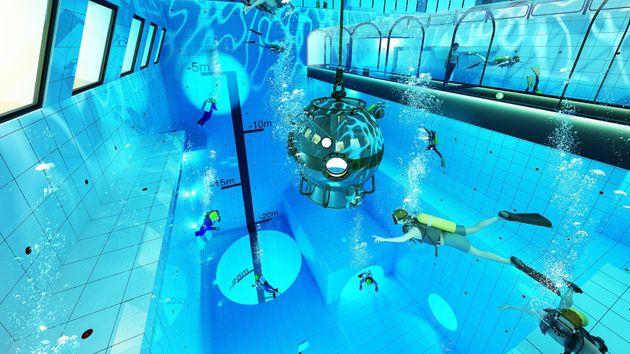 Η πιο βαθιά πισίνα του κόσμου ανοίγει στην