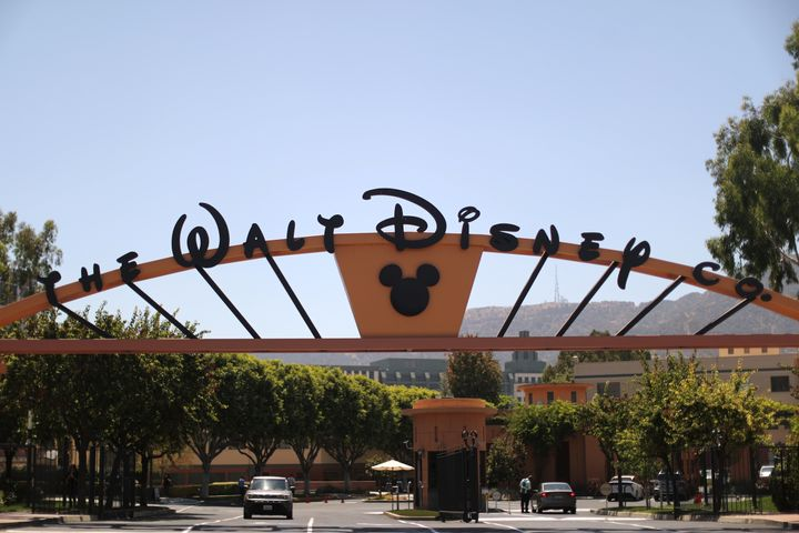 Disney's headquarters in Burbank, California. A class-action lawsuit alleges that the entertainment giant systematically pays