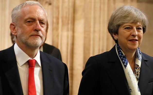 Jeremy Corbyn And Theresa May Agree Brexit 'Programme Of Work' To Break