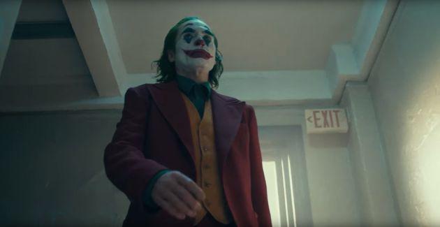 Joaquin in the Joker's iconic
