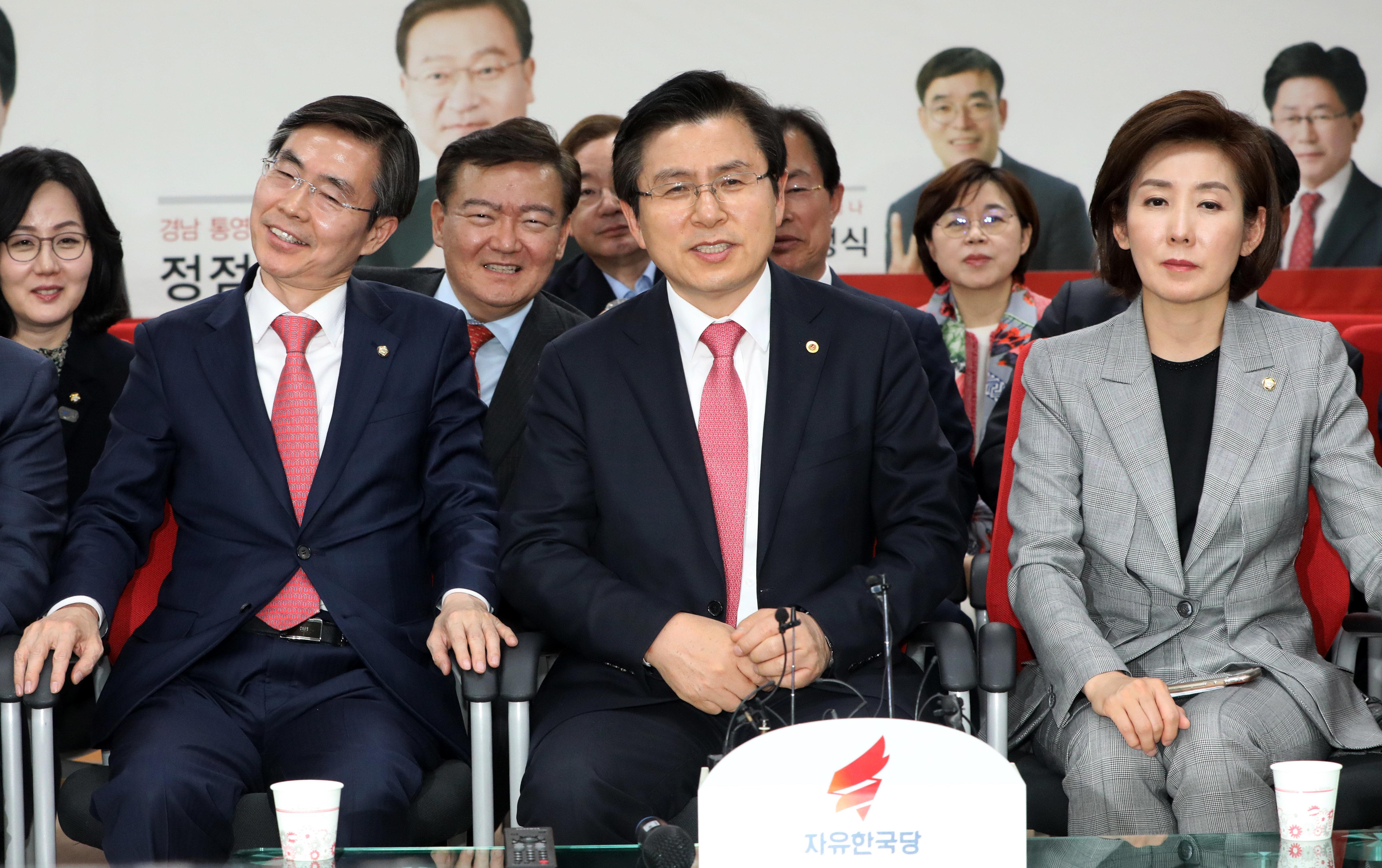 [4.3 보궐선거] 개표 후반 자유한국당 후보가 앞서고