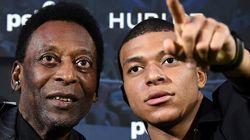 Pelé hospitalisé à Paris après sa rencontre avec