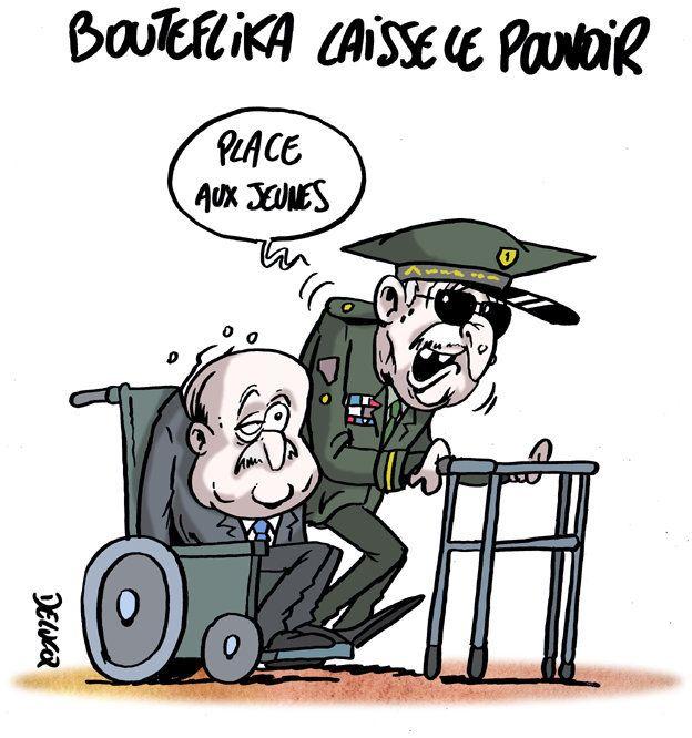 Avec la démission de Bouteflika, la roue tourne en