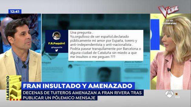 Susanna Griso, muy contundente en 'Espejo Público' (Antena 3):