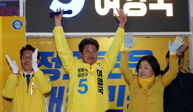 [4.3 보궐선거] 정의당 여영국 후보가 막판 역전으로