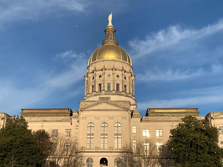 """The Georgia state Capitol in Atlanta. GOP lawmakers on Tuesday introduced a billthat would establish a """"journalis"""