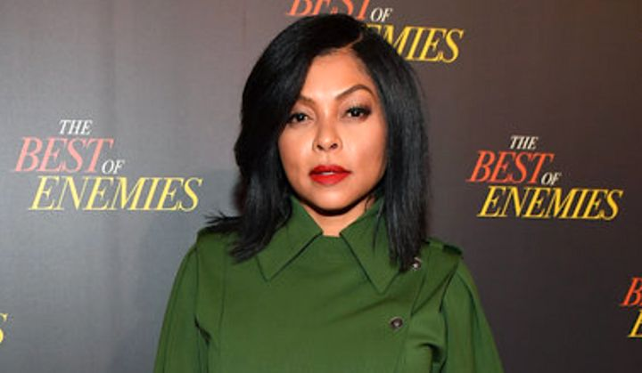 Taraji P. Henson said she's never previously dealt with this level of anxiety.