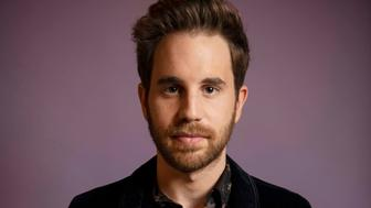 NEW YORK, NY - MARCH 28: Ben Platt poses for portraits at the Atlantic Records offices in New York on Mar. 28, 2019. (Photo by Damon Dahlen/HuffPost) *** Local Caption ***