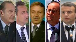 Entre Bouteflika et les présidents français, beaucoup d'amitié et... des