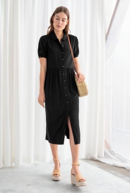 7c236cc678b0 20 Black Summer Dresses That Are Perfect For Board Room To Boardwalk ...