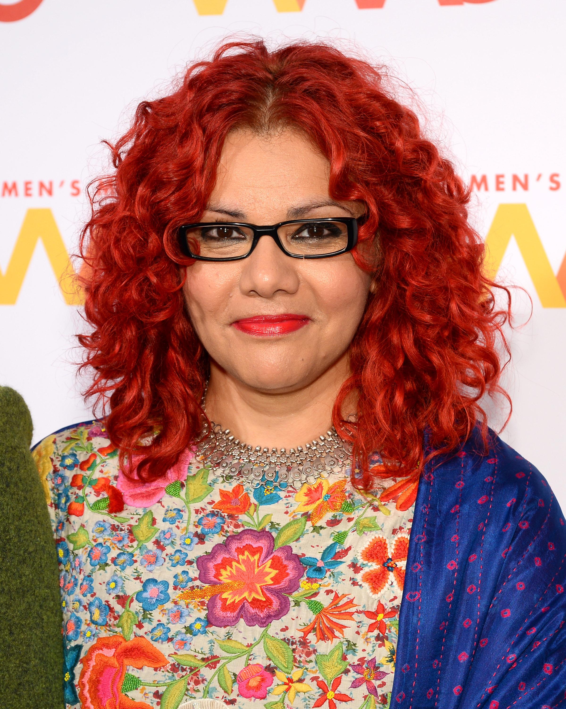 Mona Eltahawy attends the Women's Media Center 2015 Women's Media Awards in New York City.