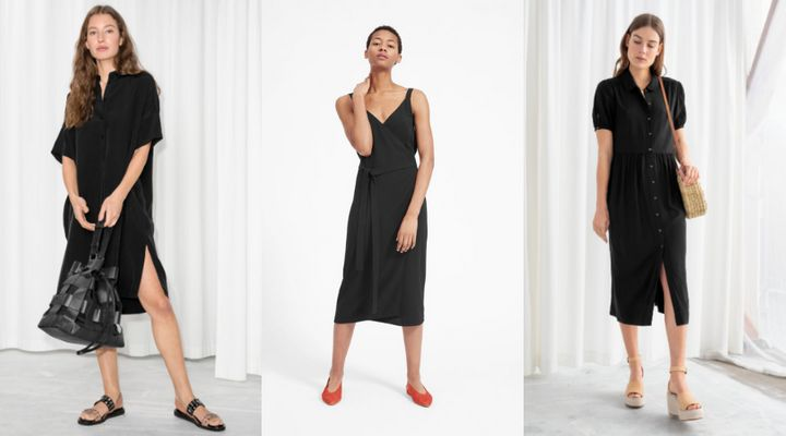 Black dresses you can wear from work to weekend all summer.