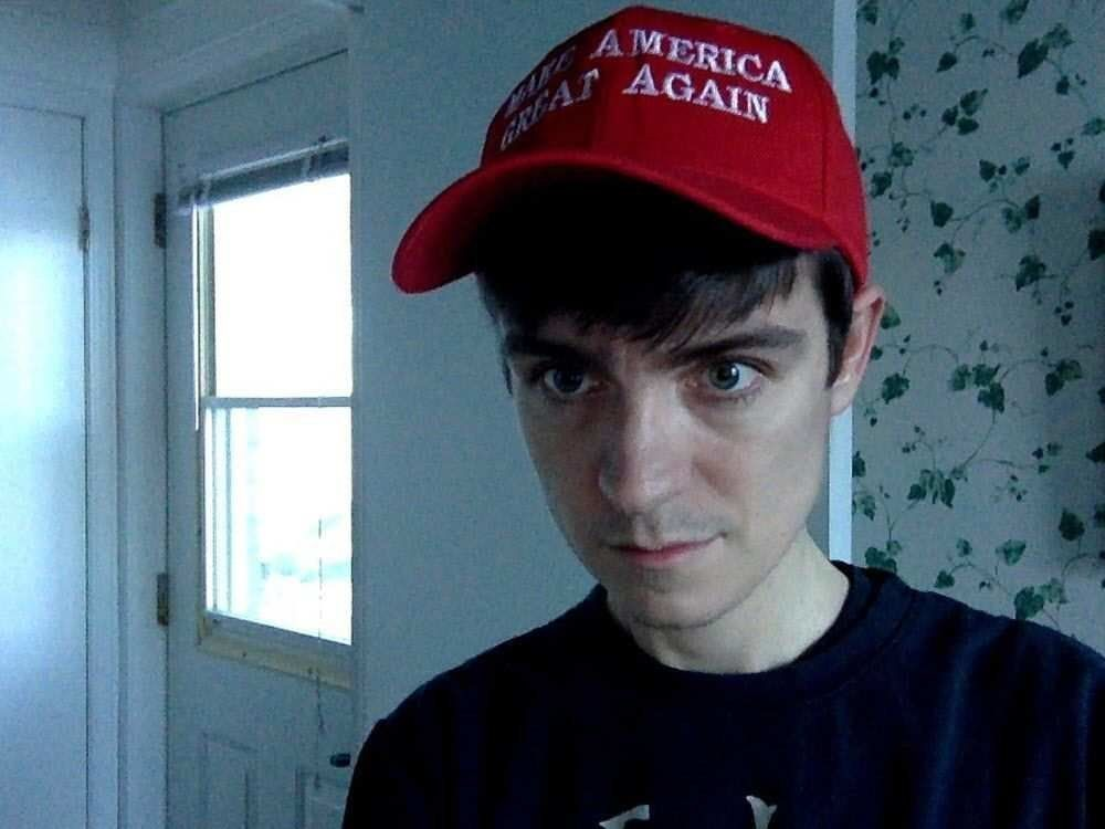 Alexandre Bissonnette obsessively searched for Donald Trump on social media and posed with a MAGA hat in the months before he