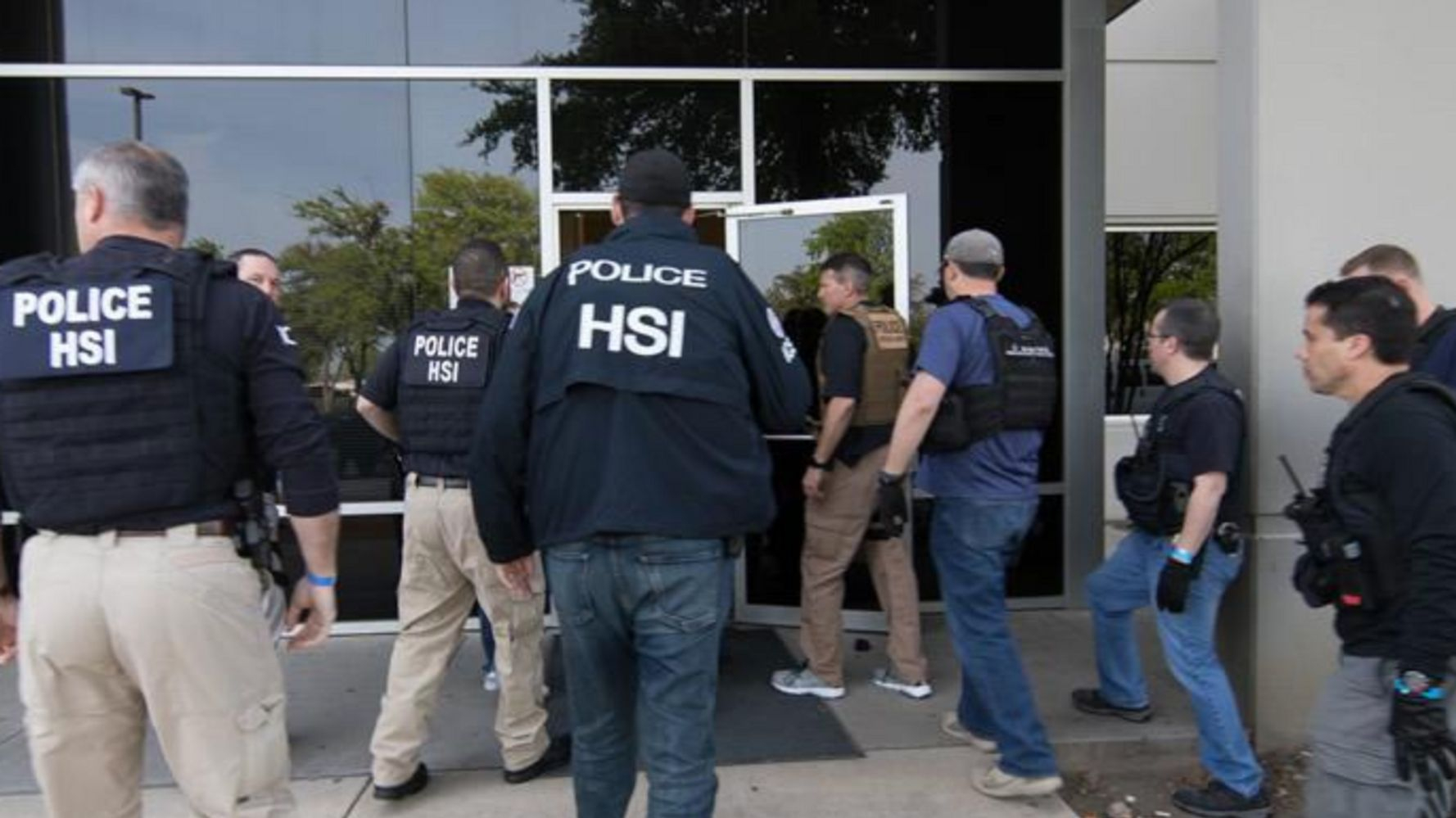 ICE Arrests Hundreds In Largest Workplace Raid In Over A Decade