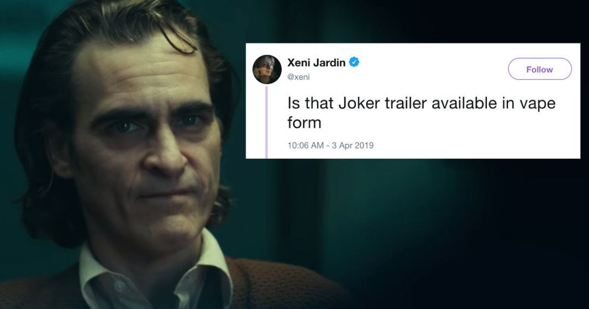 The First 'Joker' Trailer Has People Putting On Their Happy Faces