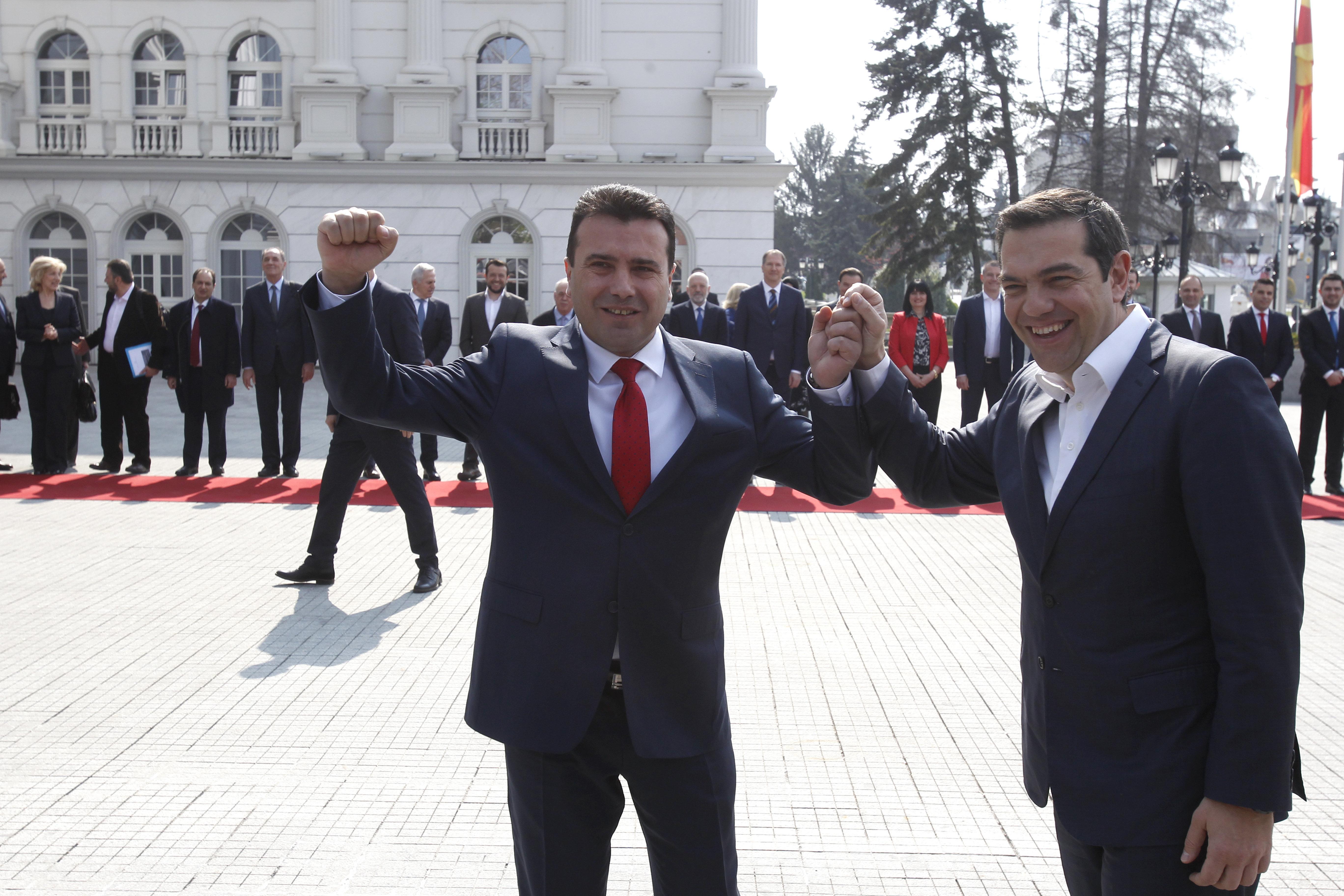 Τσίπρα και Ζάεφ για το Νόμπελ Ειρήνης προτείνουν 33