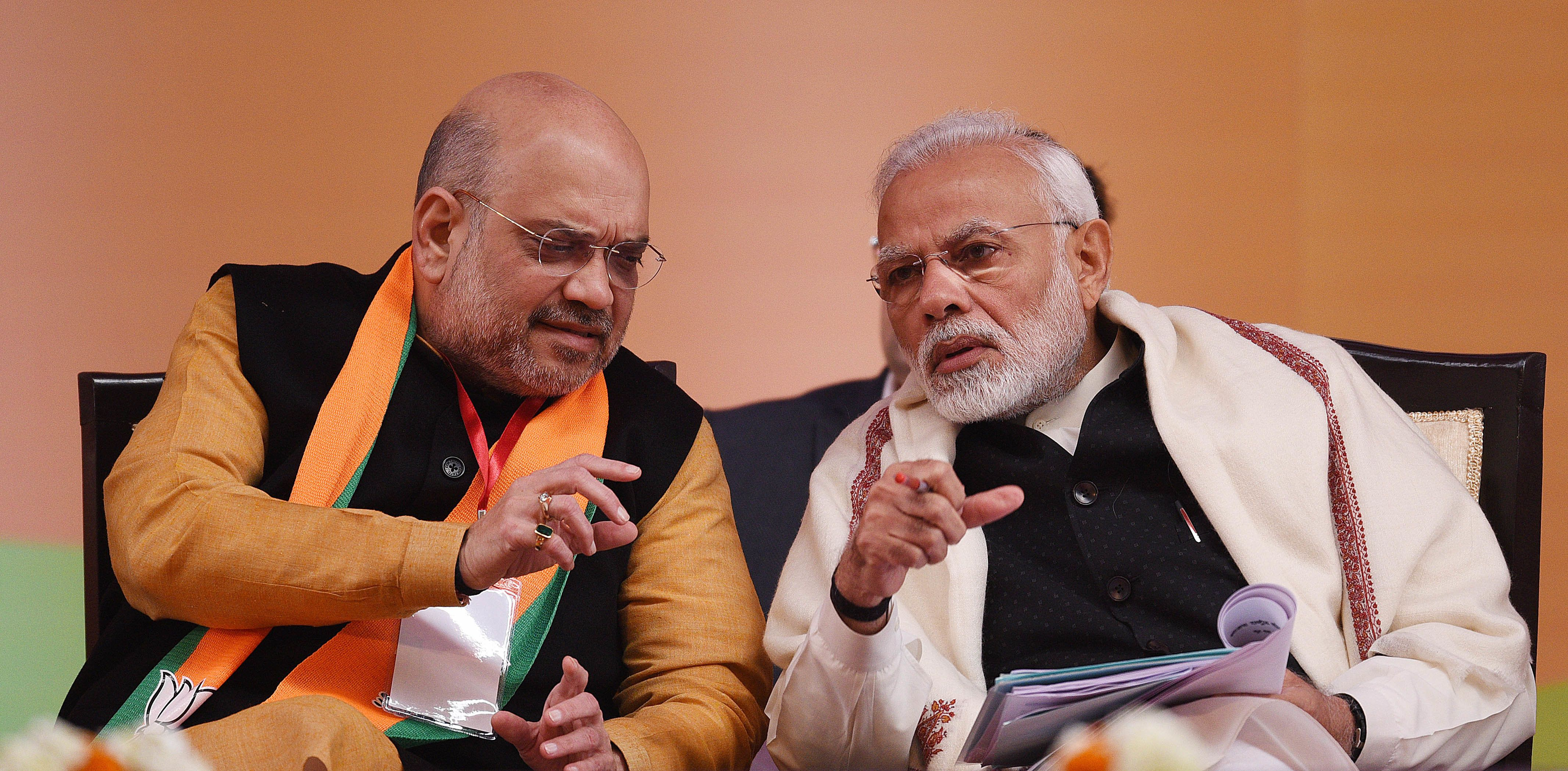 How Modi, Shah Turned A Women's Rights NGO Into A Secret Election Propaganda