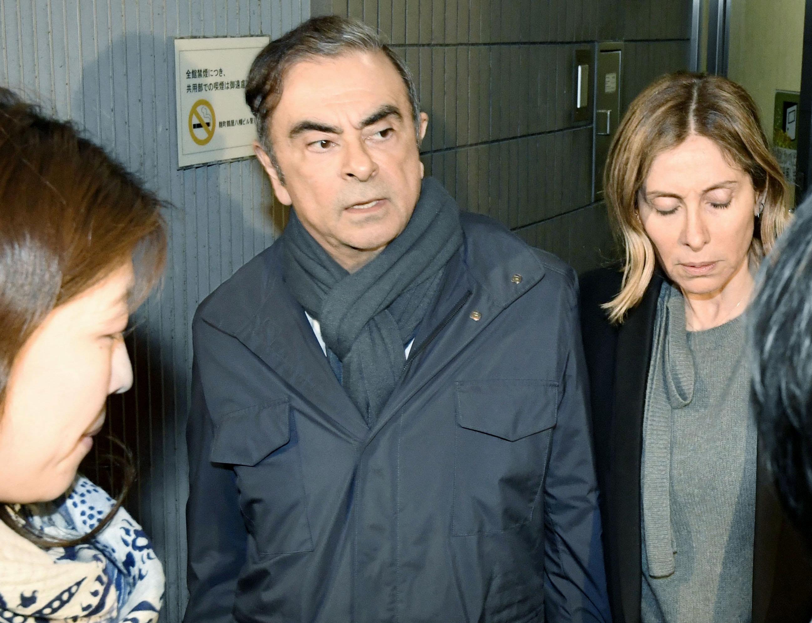 Συνελήφθη για τέταρτη φορά ο πρώην πρόεδρος της Nissan, Κάρλος