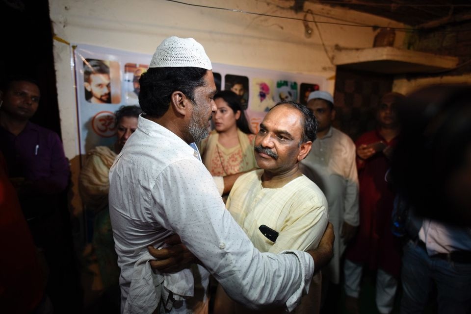 Yashpal Saxena, father of Ankit Saxena, organised an Iftar party at his home in West Delhi to send a...
