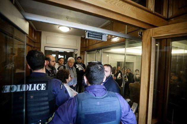 Ρόδος: Επεισόδια πριν το συνέδριο της ΓΣΣΕ - Κατάληψη στο συνεδριακό