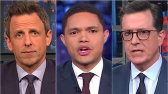 Late-night TV hosts
