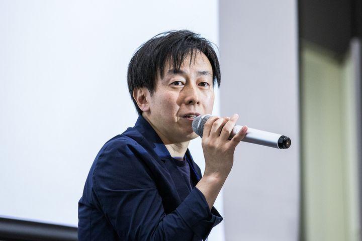 青野慶久さん。選択的夫婦別姓訴訟の原告でもある