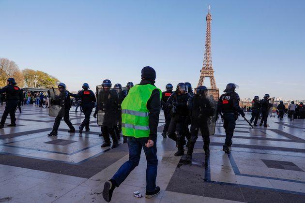 Gilets jaunes: 209 enquêtes sur des soupçons de violences policières (Photo d'illustration...