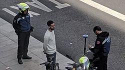 La foto de David Broncano ('La Resistencia') con la Policía llena Twitter de