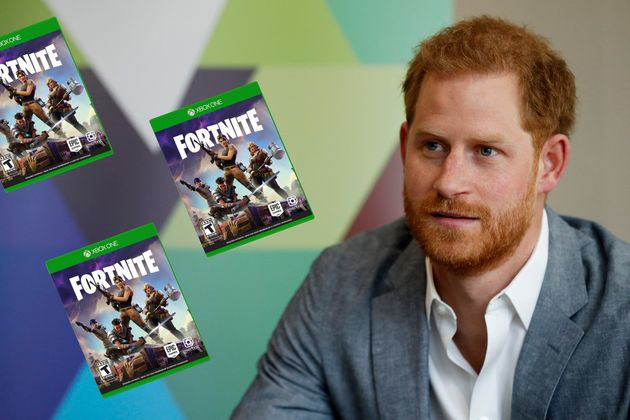 Prince Harry Says Fortnite Game Should Not Be