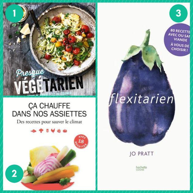 Pour une cuisine avec moins de viande, 11 livres