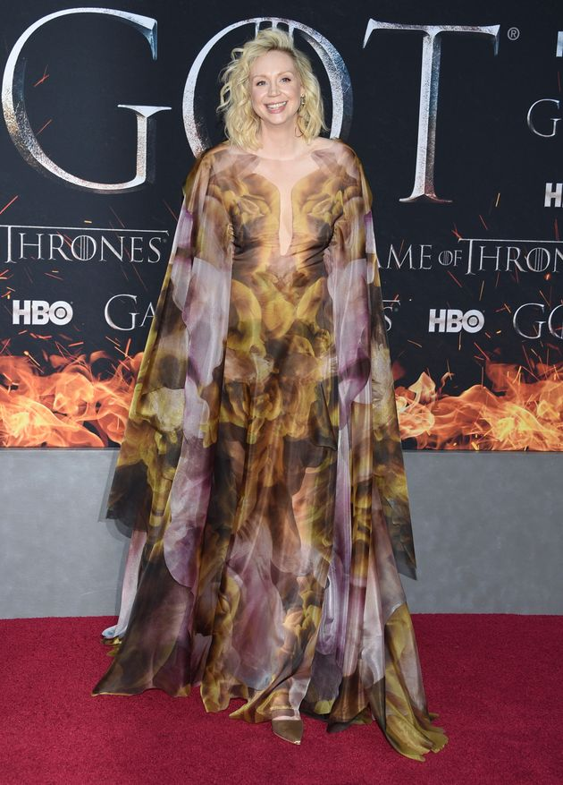 Gwendoline Christie Stole The Show At The Last Ever Game Of Thrones