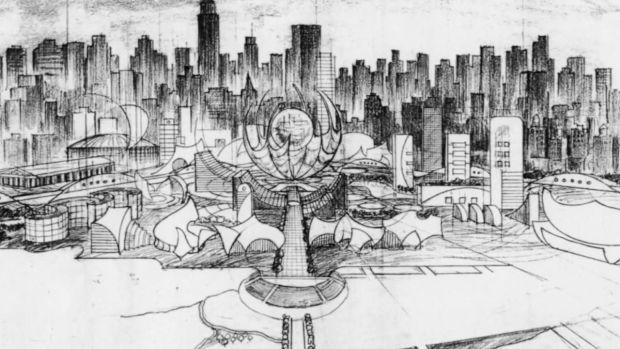 Un concept-art utilisé par Francis Ford Coppola pour son projet de film
