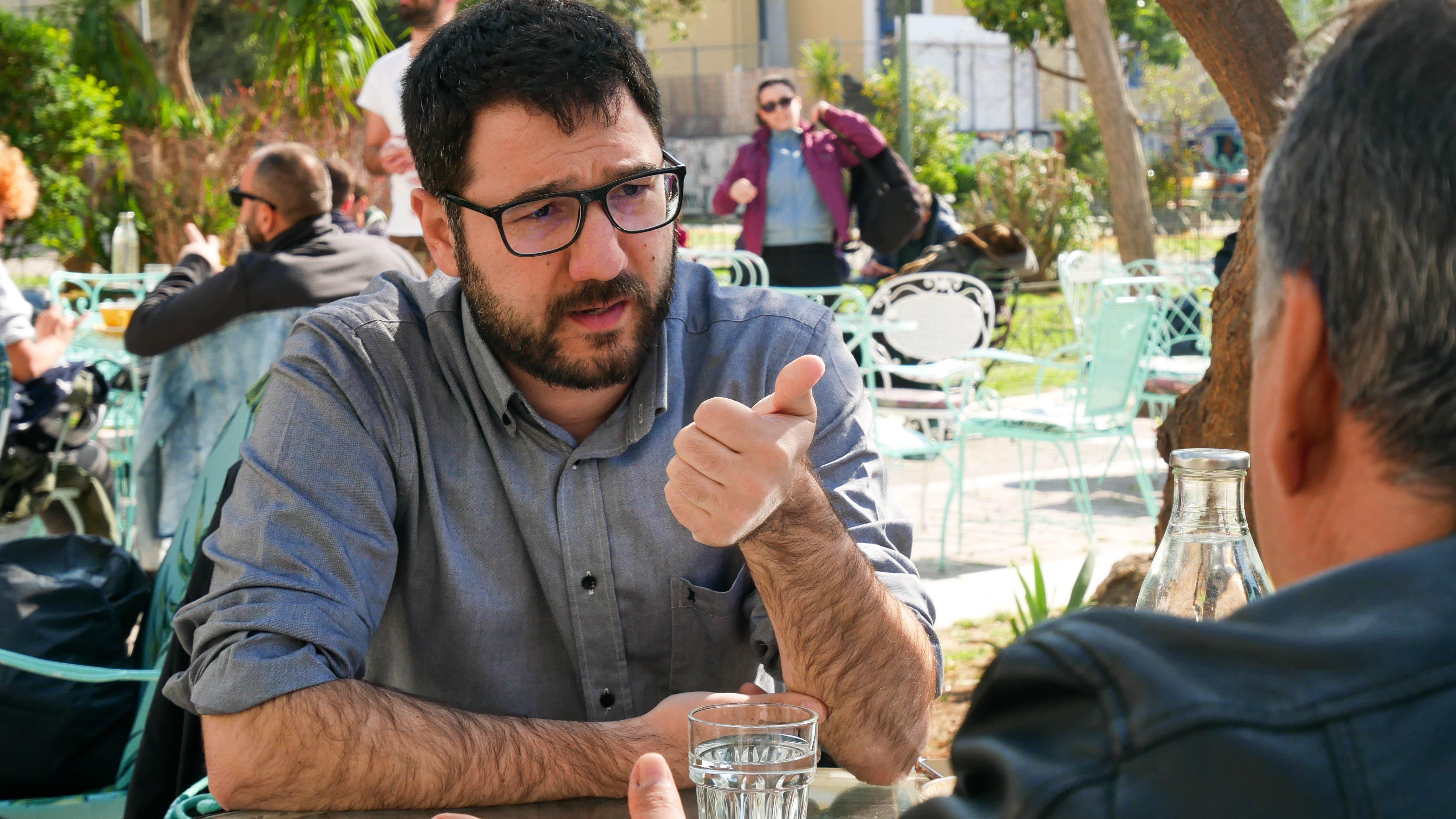 Νάσος Ηλιόπουλος: Στις 3 Ιουνίου θα είμαι ένας χαρούμενος άνθρωπος με σημαντικές