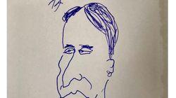 石野卓球さん「髪形!!!」のイラスト投稿 保釈されたピエール瀧被告にエールか
