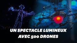 Ces 500 drones ont illuminé le ciel de l'Arizona pour un show