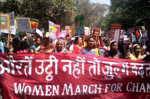 PHOTOS: Women Across India March Against Hate And