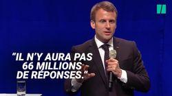 Grand débat: comment Macron et LREM préparent les Français à être