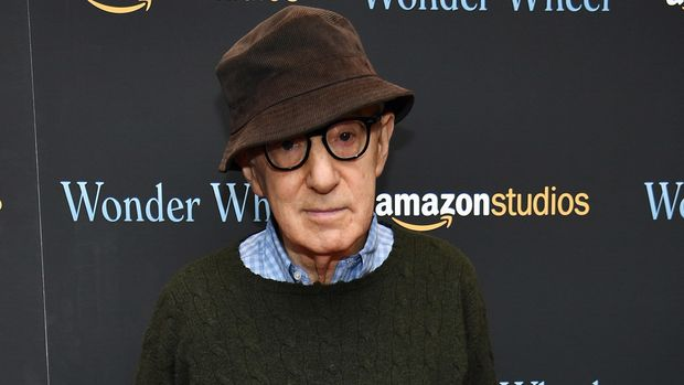 NEW YORK, NY - NOVEMBER 14:  Woody Allen attends the 'Wonder Wheel' screening at Museum of Modern Art on November 14, 2017 in New York City.  (Photo by Dimitrios Kambouris/Getty Images)