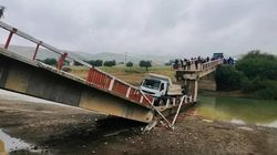Les images impressionnantes de l'effondrement d'un pont à