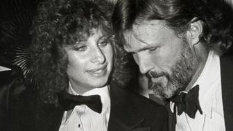 Singers Barbra Streisand and Kris Kristofferson attending the premiere party for 'A Star is Born' on December 23, 1976 at the Tavern on the Green in New York City, New York. (Photo by Ron Galella/WireImage)