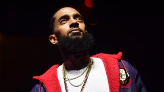 ATLANTA, GA - DECEMBER 10: Rapper Nipsey Hussle attends A Craft Syndicate Music Collaboration Unveiling Event at Opera Atlanta on December 10, 2018 in Atlanta, Georgia.(photo by Prince Williams/Wireimage)